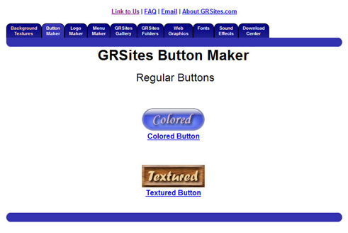 Lien vers le site de GRSites Button Maker